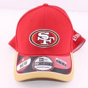 New San Francisco 49ers New Era NFL Hat Med/Large